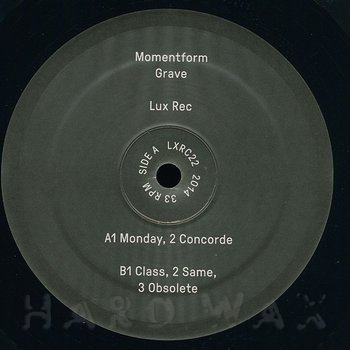 Cover art - Momentform: Grave
