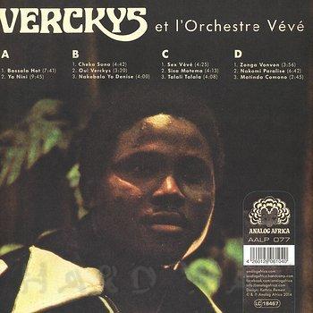 Cover art - Verckys Et L'Orchestre Vévé: Congolese Funk, Afrobeat & Psychedelic Rumba 1969-1978