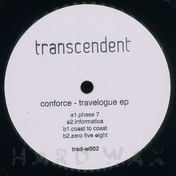 Cover art - Conforce: Travelogue EP