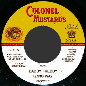 Cover art - Daddy Freddy: The Long Way