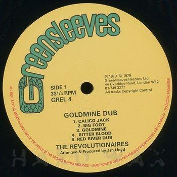 Cover art - The Revolutionaries: Goldmine Dub