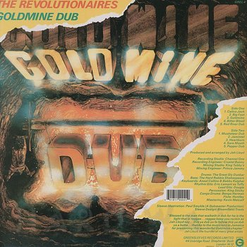Cover art - The Revolutionaries: Goldmine Dub