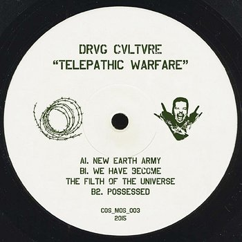 Cover art - Drvg Culture: Telepathic Warfare