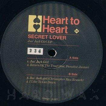 Cover art - Secret Lover: Jus' Jack Girl EP