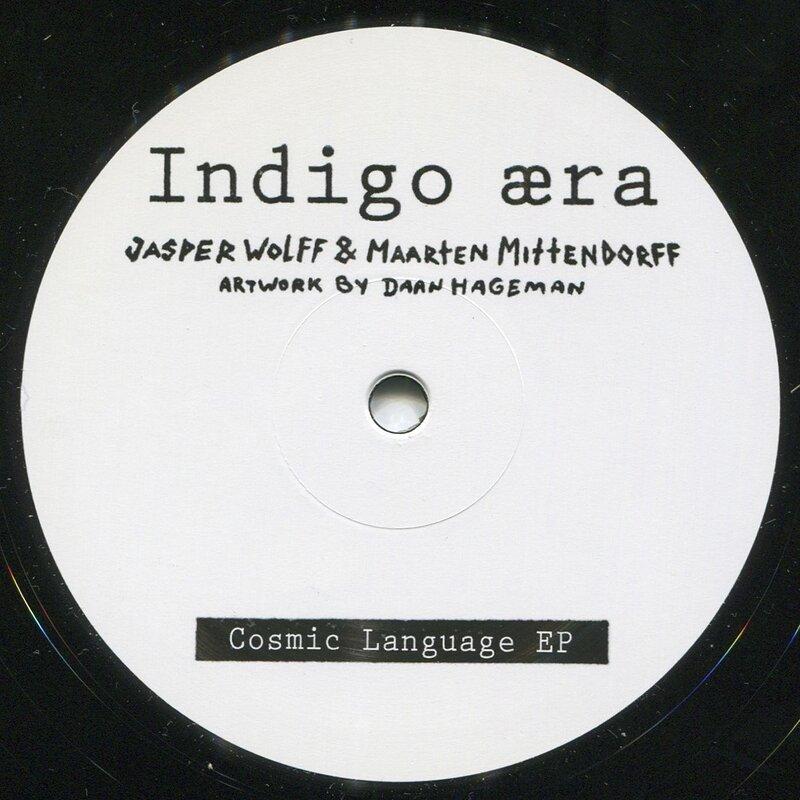 Cover art - Jasper Wolff & Maarten Mittendorff: Cosmic Language EP