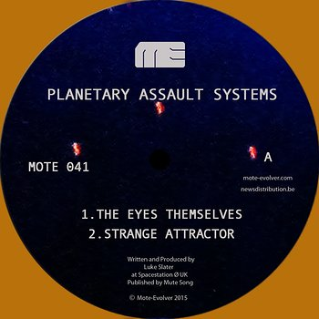 Cover art - Planetary Assault Systems: The Eyes Themselves