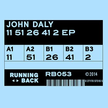Cover art - John Daly: 11 51 26 41 2 EP