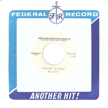 Cover art - The Federal Singers: My Love