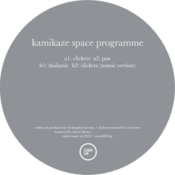 Cover art - Kamikaze Space Programme: Humanoid EP