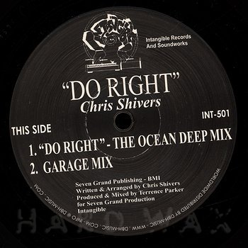Cover art - Chris Shivers: Do Right