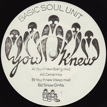 Cover art - Basic Soul Unit: You Knew EP