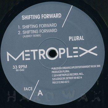 Cover art - Plural: Shifting Forward