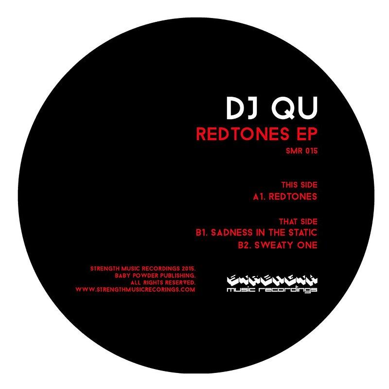 Cover art - DJ Qu: Redtones EP