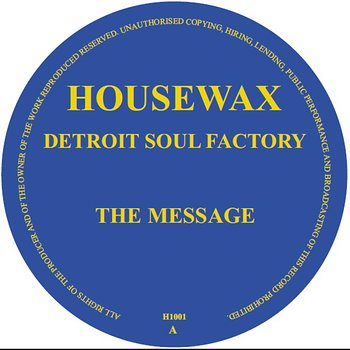 Cover art - Detroit Soul Factory: The Message