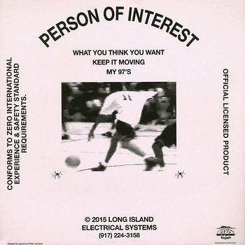 Cover art - Person Of Interest: What You Think You Want