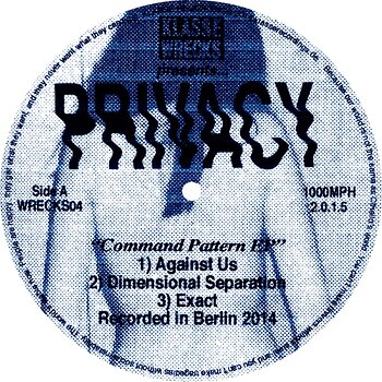 Cover art - Privacy: Command Pattern EP