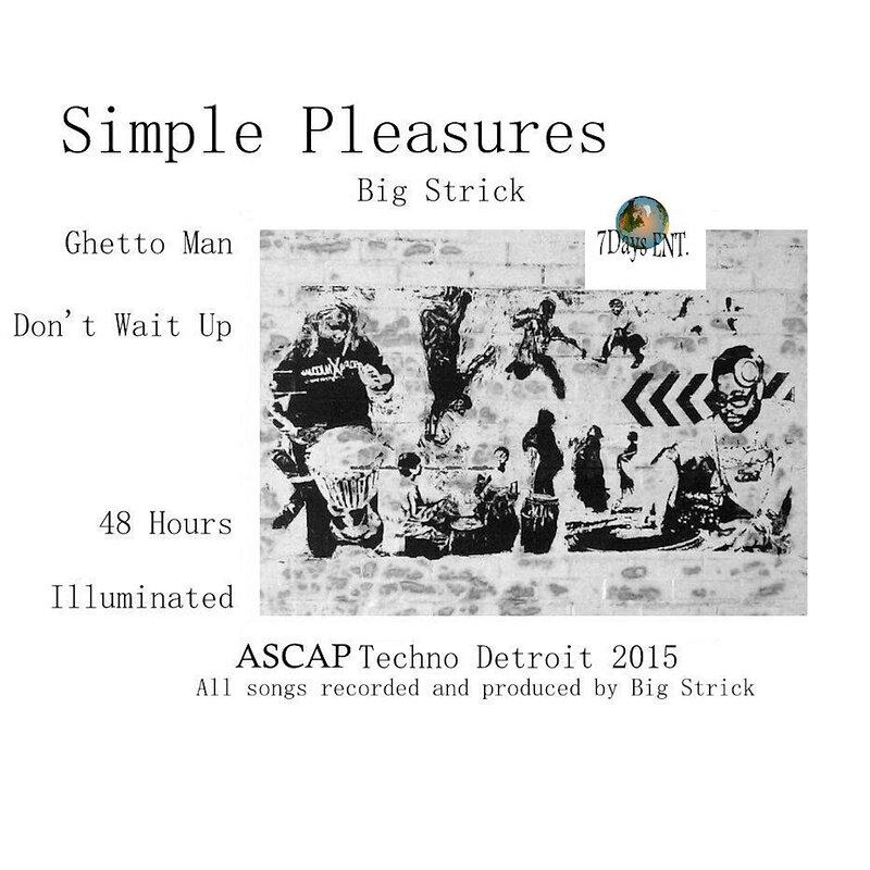 Cover art - Big Strick: Simple Pleasures