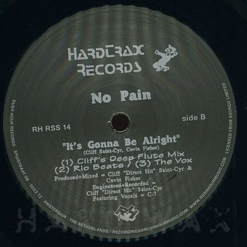 Cover art - No Pain: It's Gonna Be Alright