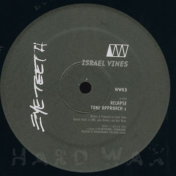 Cover art - Israel Vines: WWKD EP