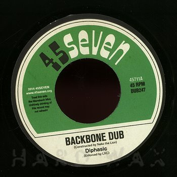 Cover art - Diphasic: Backbone Dub