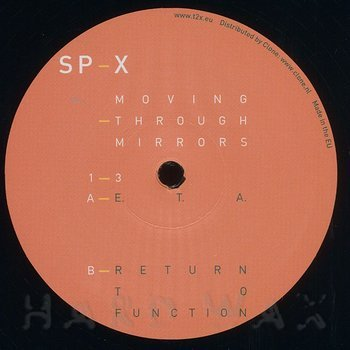 Cover art - SP-X: Moving Through Mirrors 1-3