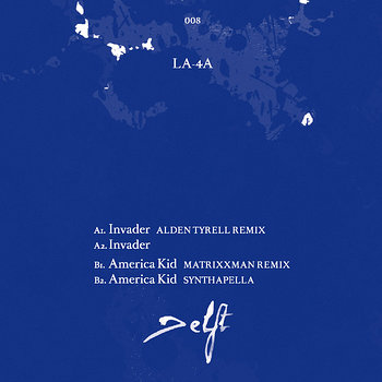 Cover art - LA-4A: Invader
