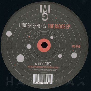 Cover art - Hidden Spheres: The Bloos EP