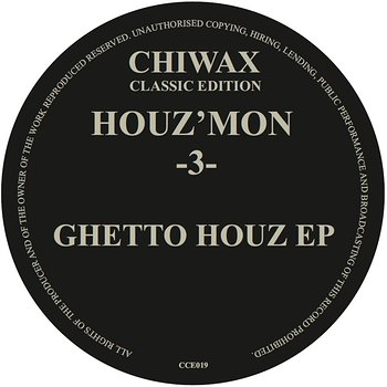 Cover art - Houz' Mon: -3- Ghetto Houz EP