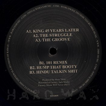 Houz' Mon: -3- Ghetto Houz EP - Hard Wax