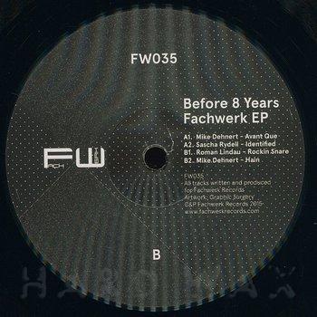 Cover art - Various Artists: Before 8 Years Of Fachwerk