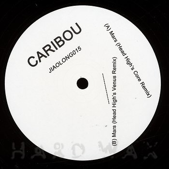 Cover art - Caribou: Mars - Head High Remixes