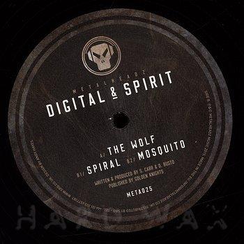 Cover art - Digital & Spirit: The Wolf