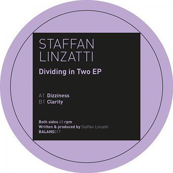 Cover art - Staffan Linzatti: Dividing In Two