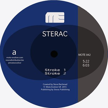 Cover art - Sterac: Different Strokes