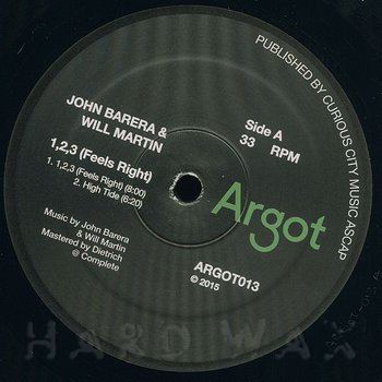 Cover art - John Barera & Will Martin: 1,2,3 (Feels Right)