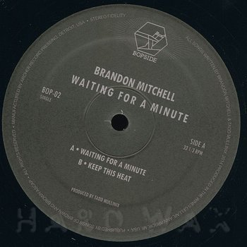 Cover art - Brandon Mitchell: Waiting For A Minute