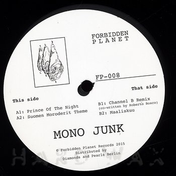 Cover art - Mono Junk: Prince Of The Night
