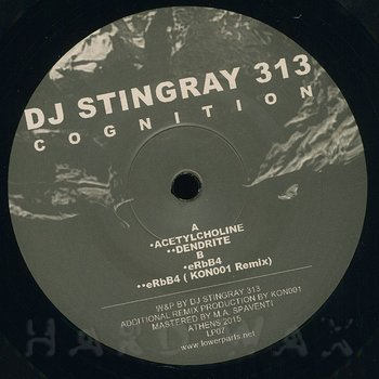 Cover art - DJ Stingray 313: Cognition
