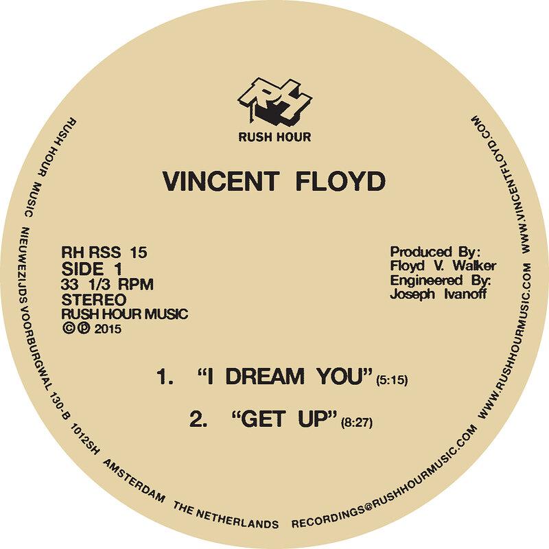 Cover art - Vincent Floyd: I Dream You