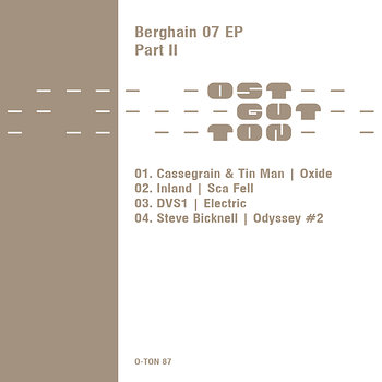 Cover art - Various Artists: Berghain 07 Part 2
