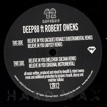 Cover art - Deep88 feat. Robert Owens: Believe In You