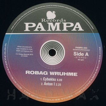 Cover art - Robag Wruhme: Cybekks EP