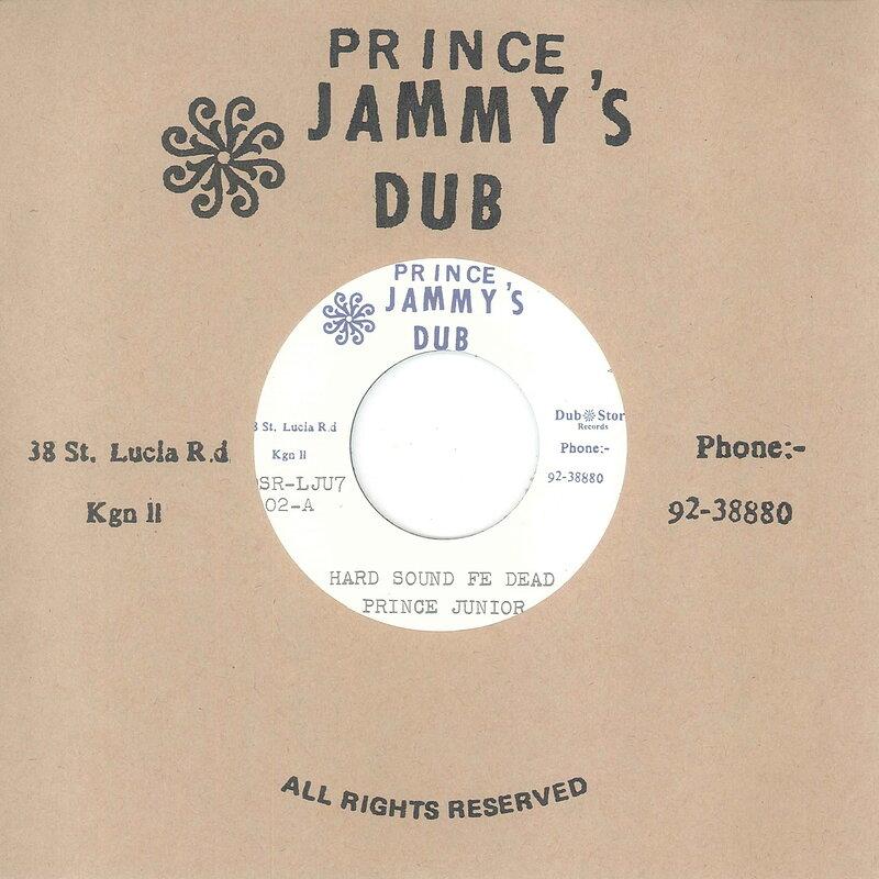 Cover art - Prince Junior: Hard Sound Fe Dead