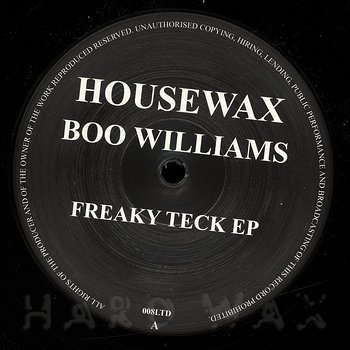 Cover art - Boo Williams: Freaky Teck EP