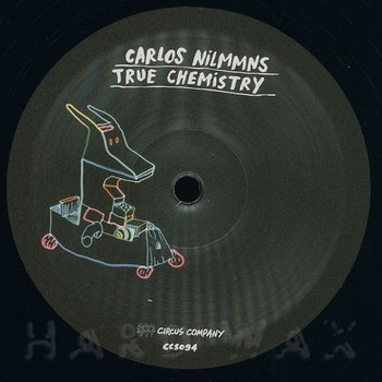 Cover art - Carlos Nilmmns: True Chemistry