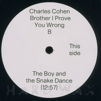Cover art - Charles Cohen: Brother I Prove You Wrong