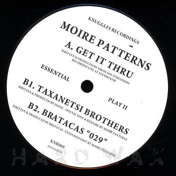 Cover art - Moire Patterns: Get It Thru