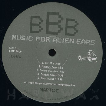 Cover art - Martoc: Music For Alien Ears