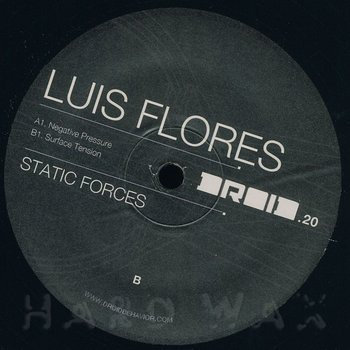 Cover art - Luis Flores: Static Forces