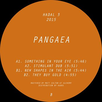 Cover art - Pangaea: New Shapes In The Air